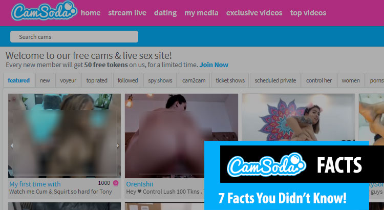 camsoda facts
